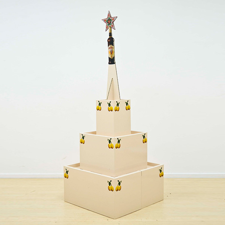 3 Tier Festive Display 640mm (w) x 640mm (d)) x 1661mm (h)