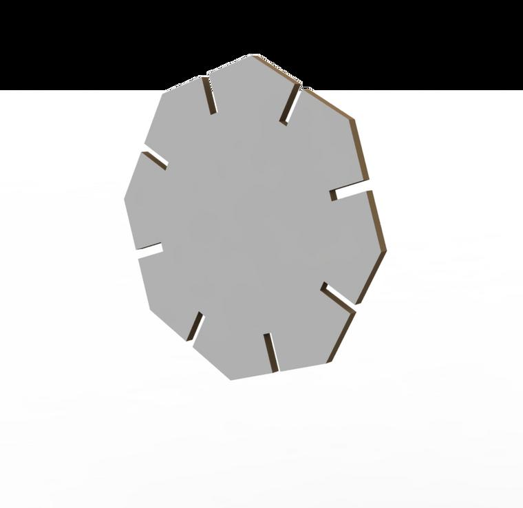 X021 Octagon Slot-in-Slot - Cut file