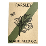 Parsley - Dark Green Italian Flat Leaf