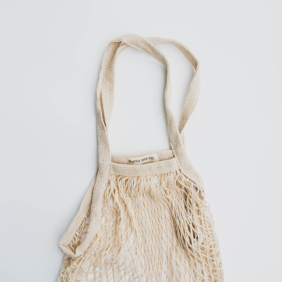 French Market Tote - Cotton String Bag