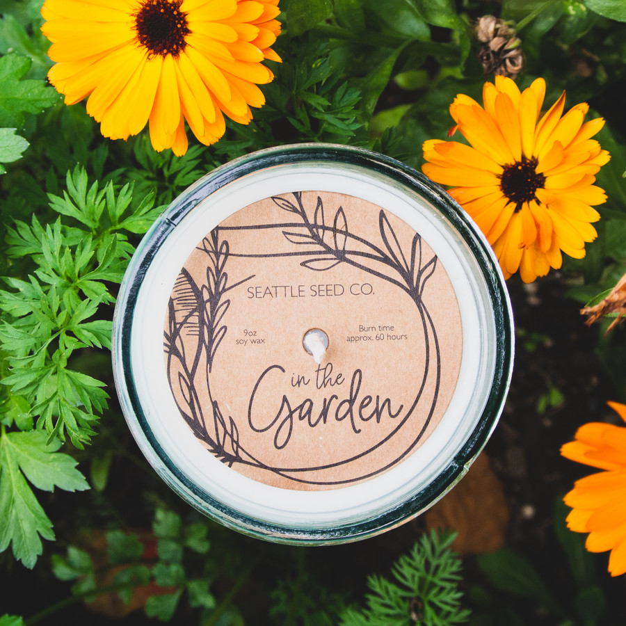 In the Garden - Signature Scent - Soy Wax Candle