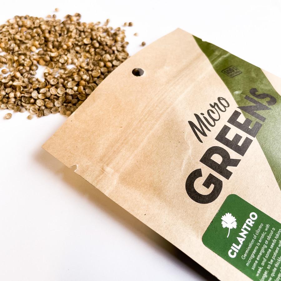 Cilantro for Microgreens