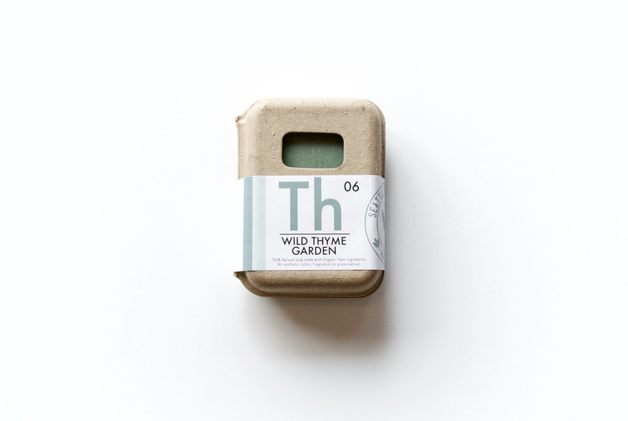 Organic Soap - Wild Thyme Garden