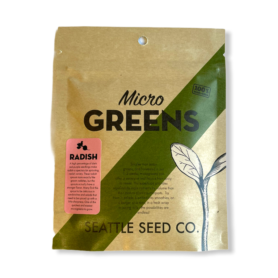 Radish for Microgreens