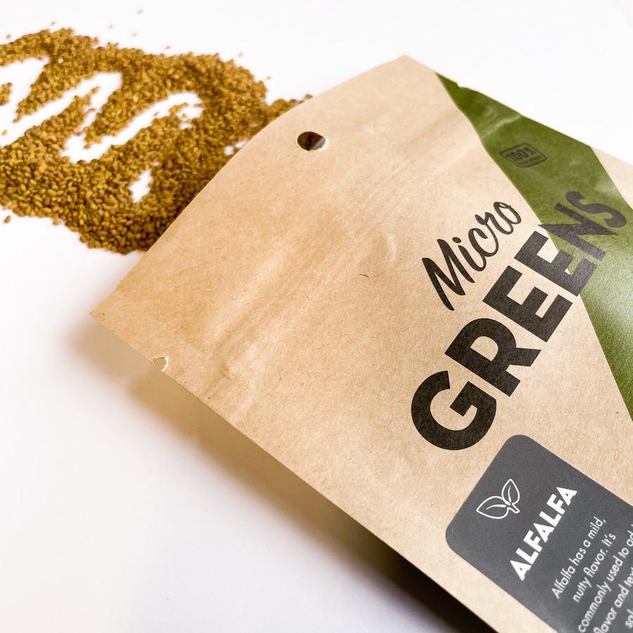 Alfalfa for Microgreens