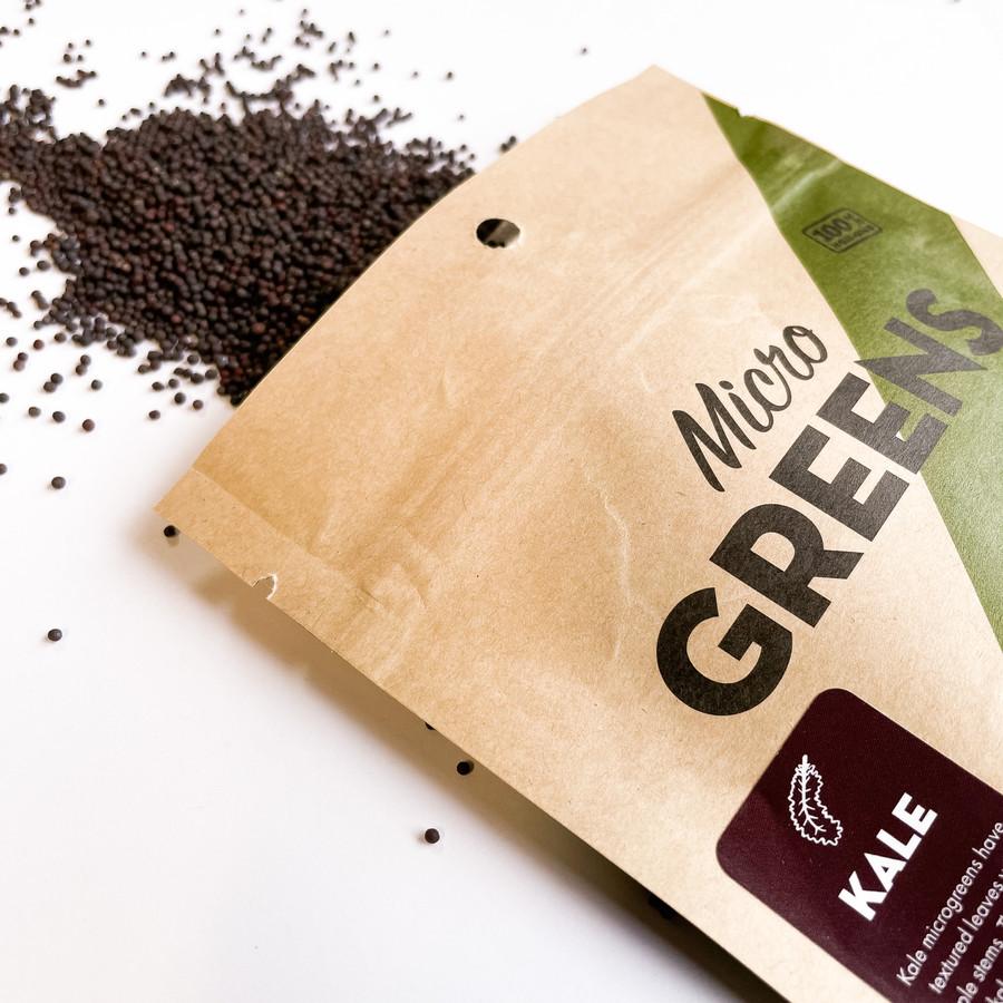 Kale for Microgreens