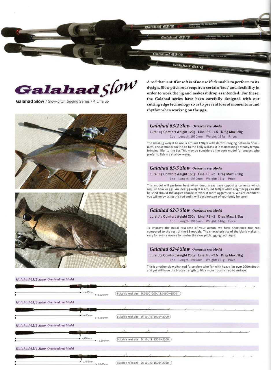 Galahad Slow Pitch Jigging
