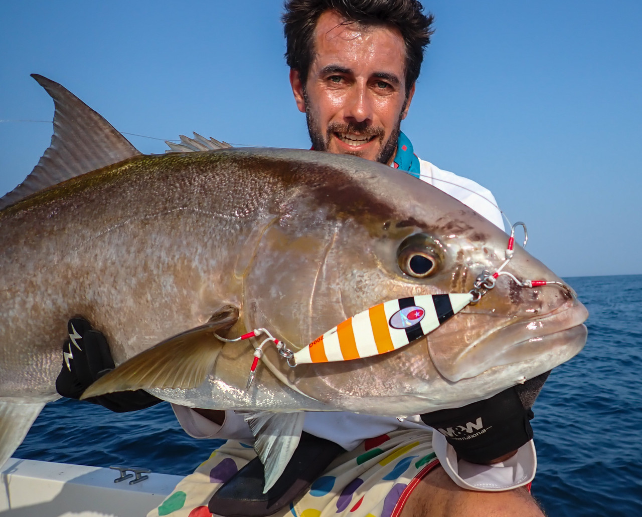 """Thank you Pierre! Fishing looks good at Panafishing Lodge, Pedesi Panama!  Glad to see our Assist Hooks are """"assisting"""" in these fine catches - sorry for bad joke I have a odd sense of humor"""