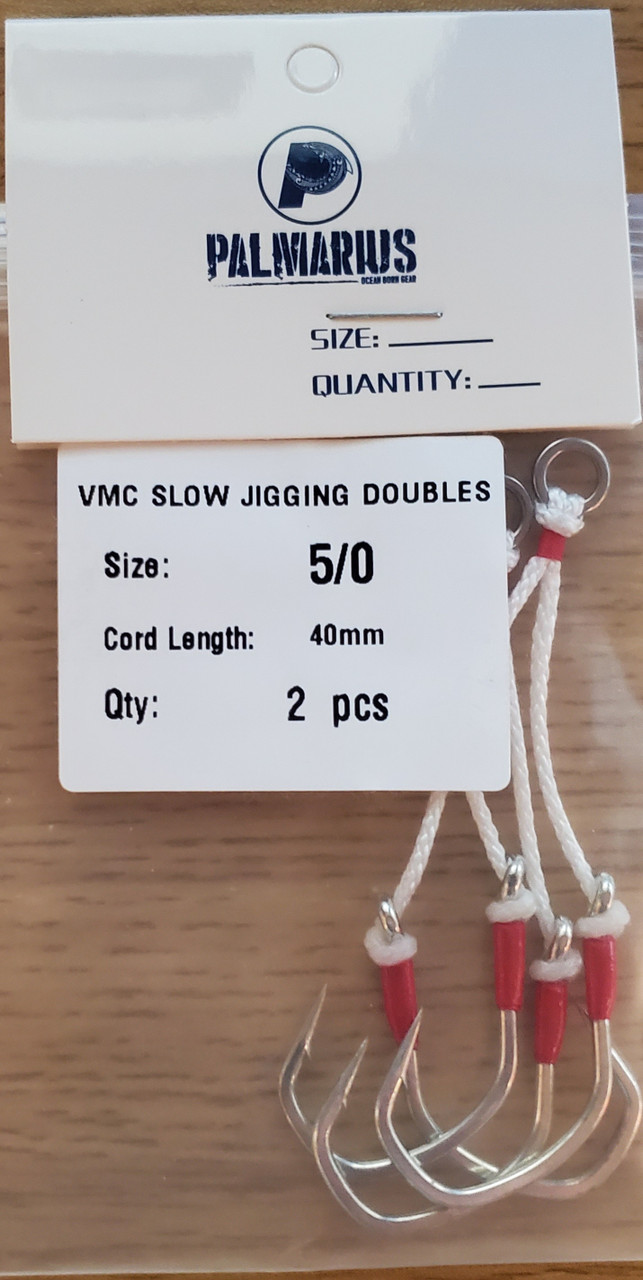VMC Dual Assist Hooks for Slow Pitch Jigging