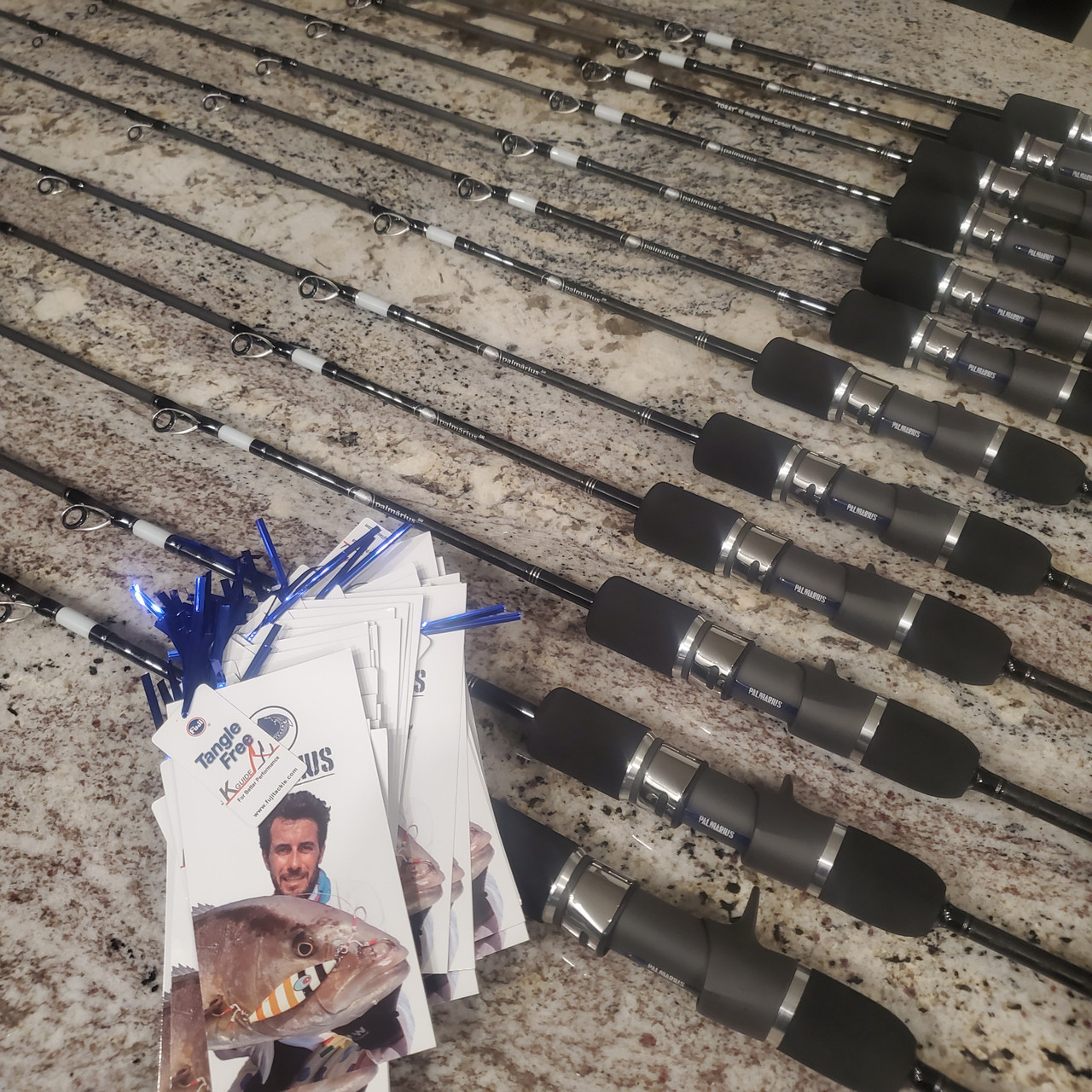 "Palmarius P Series Slow pitch jigging rods 6'6"" 198CM"