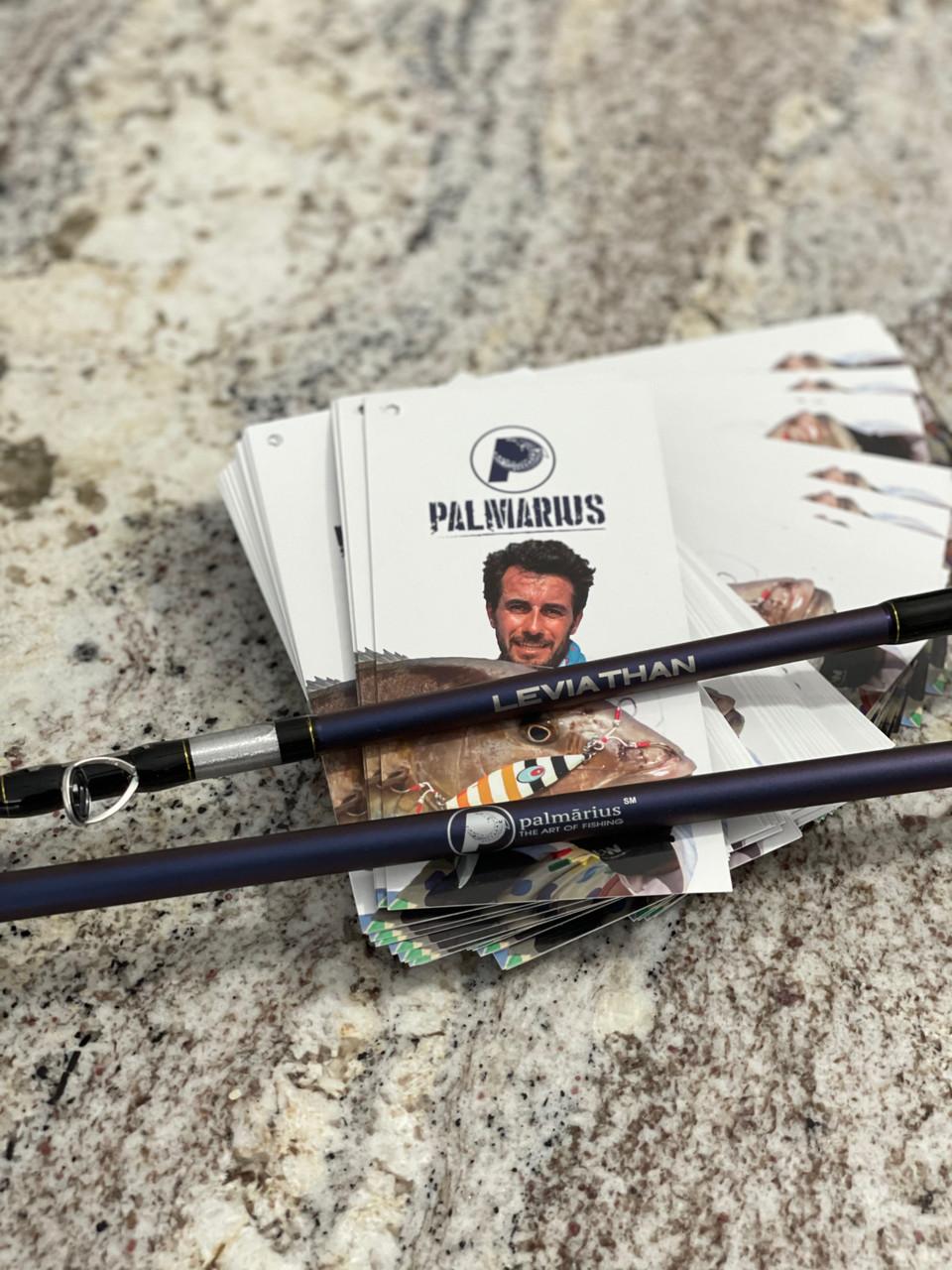 "Palmarius Leviathan 7'2"" 2.18M Slow pitch jigging rods"