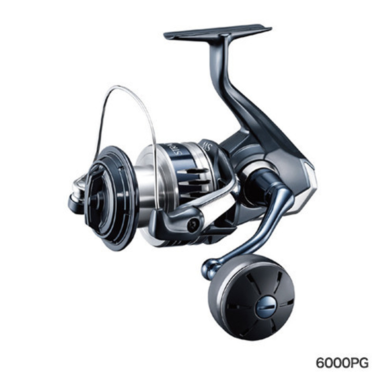 Slow invitation and hoisting power-oriented model  # 5000 Large diameter spool model. With the excellent power of PG, it is ideal for slow invitations in gori-rolling fights, jigging and casting games.  [Reference target fish / fishing species] Jigging, shore jigging & plugging, etc.