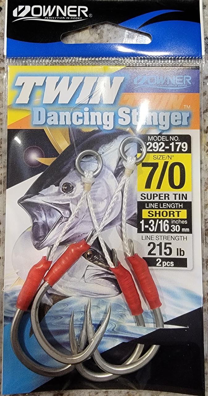 Owner HD Super TIn Dual Dancing Stinger Hook