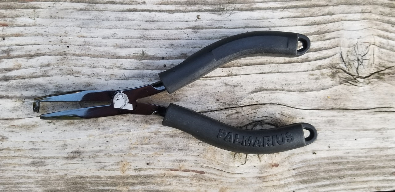 Finest split ring pliers on the market.  Easily opens size #7 to #12 with damaging or distorting the ring and thus comprising strength.