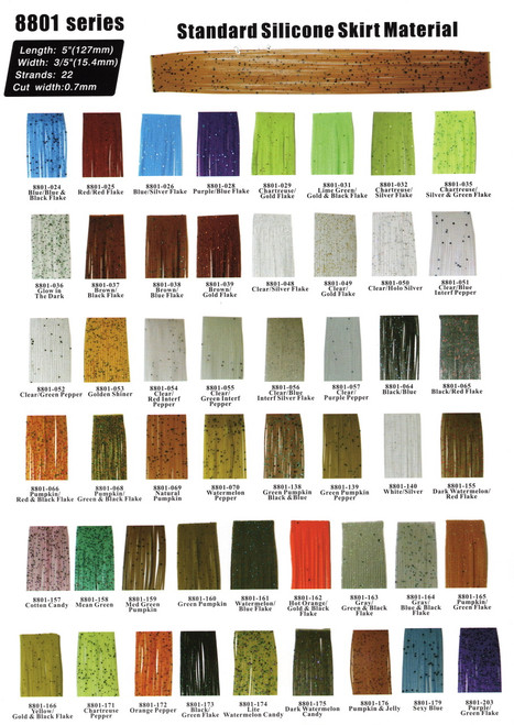 Silicon Skirts material (8801 100pc)
