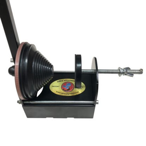 SP-60 Dedicated Spinning Reel Only line winder.  Safely spool your precious high end spinning reels without fear of spool damage!