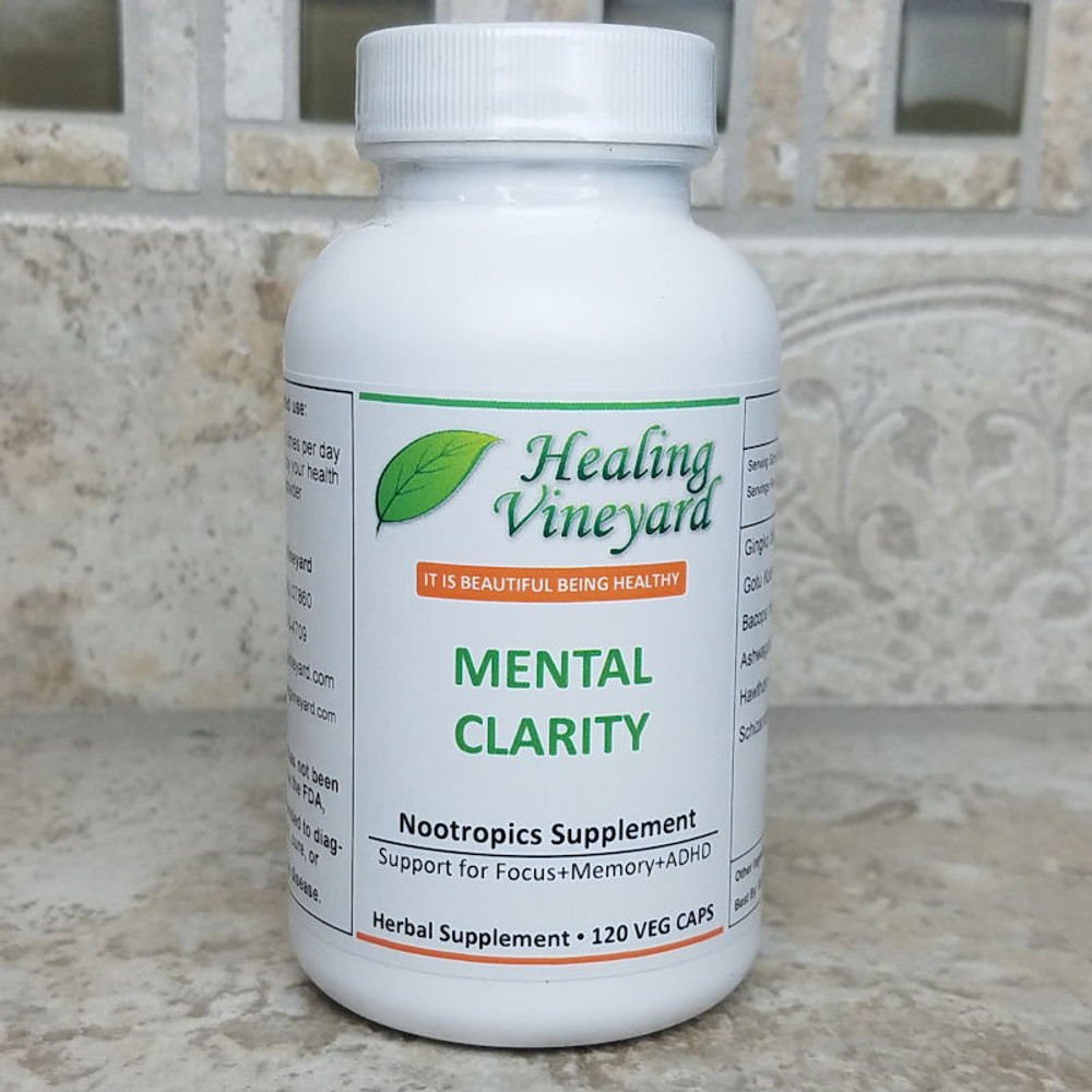 Mental clarity attention supplement