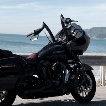 "Diablo Rhino 2"" Handlebars for Harley-Davidson Road Glide - Black"