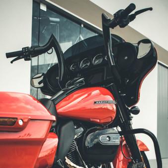 "Diablo Rhino 2"" Handlebars for Harley-Davidson Street Glide - Black"