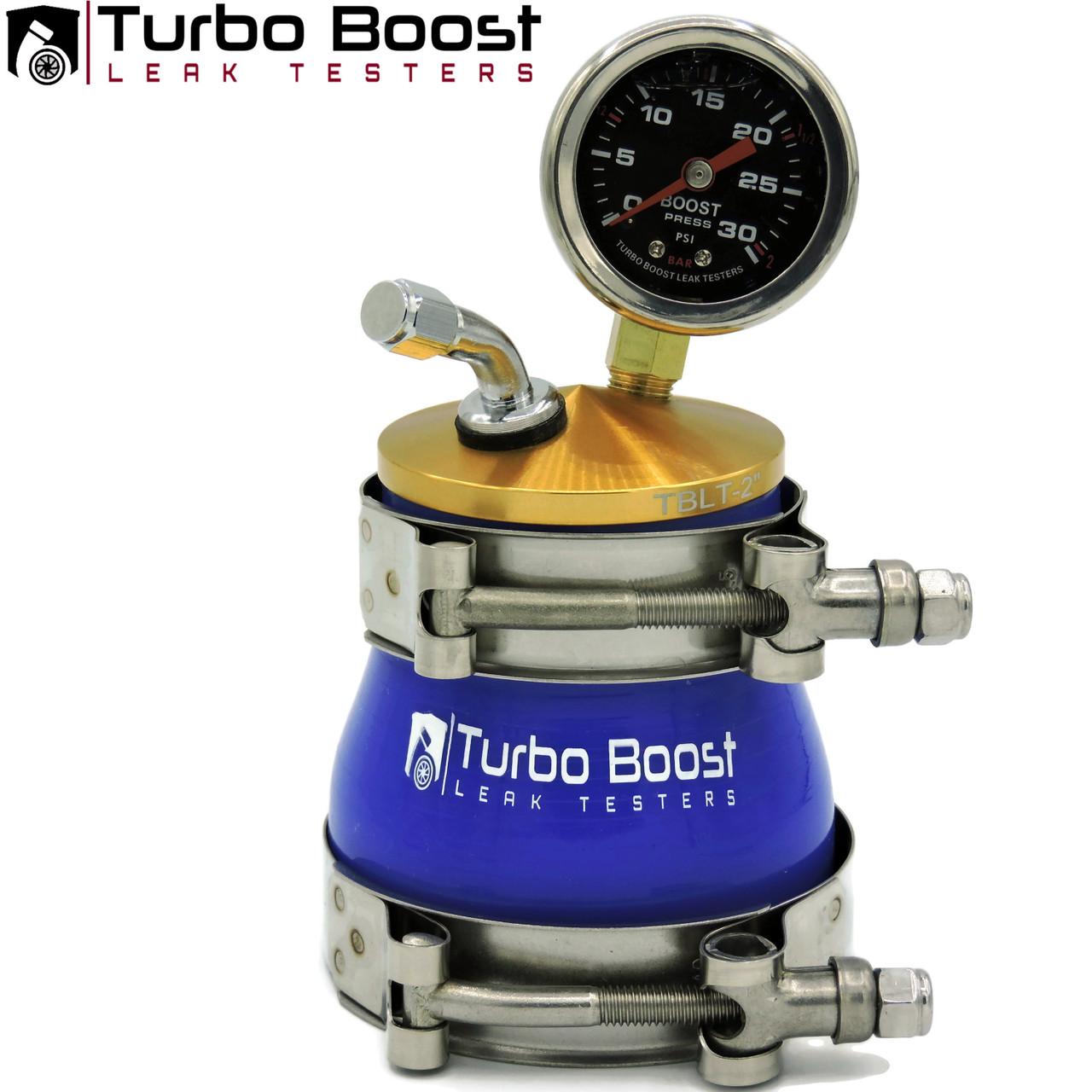 "Shop Kit -2"" inch to 4"" inch - BILLET 6061 Aluminum - Universal Boost Leak Tester Kit"
