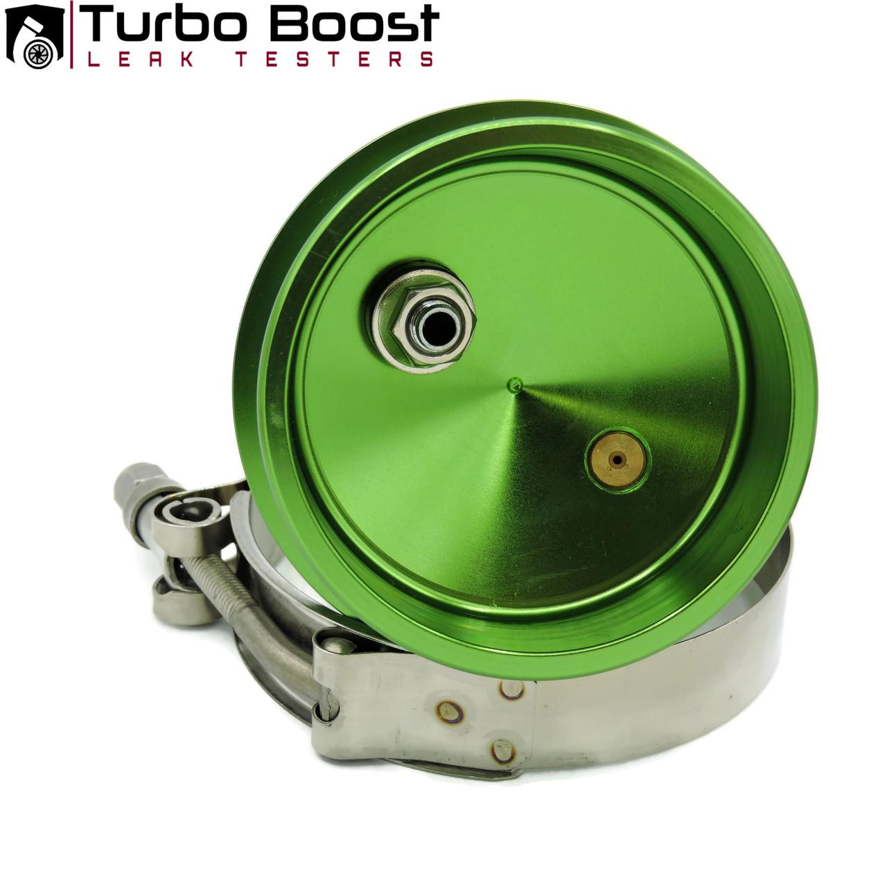 "3"" Turbo Boost Leak Testers - END CAP - 6061 Billet Aluminum 30PSI T-BOLT -PREMIUM"