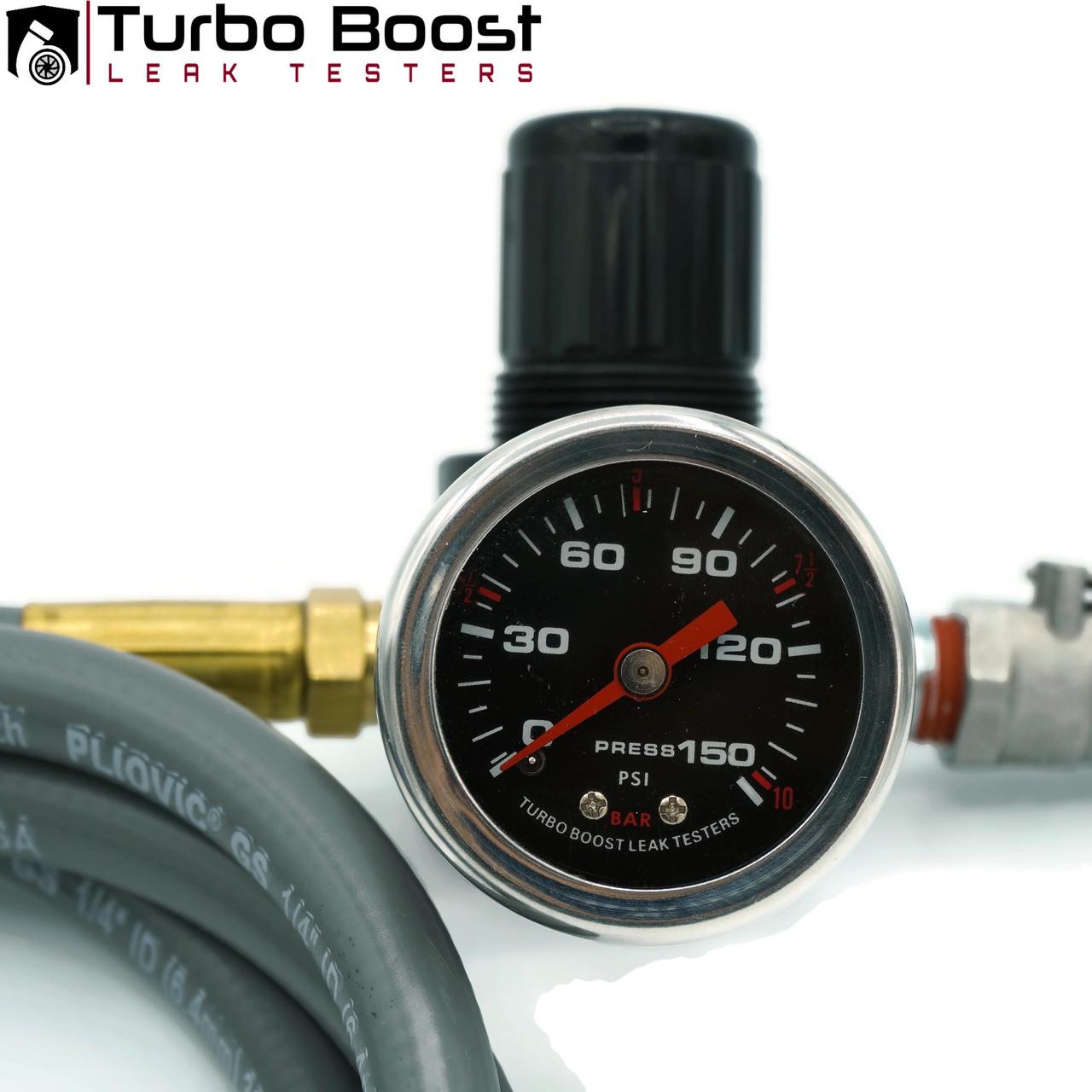Boost Gauge - Custom 150 PSI Stainless Steel Housing Liquid-Filled
