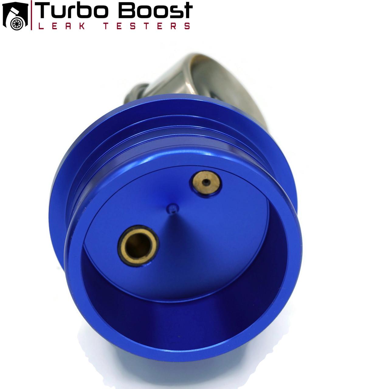 DURAMAX 6.6L Turbo Boost Leak Tester -  BILLET ALUM-  HIGH BOOST 60 PSI - COMP Fitting M-Type - PRO-Kit 5 ft. Extension Line w/On Off Valve - Fits  LB7 / LLY / LBZ / LMM / LML / L5P