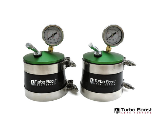 "3"" Twin Turbo Boost Leak Tester - Billet Aluminum"