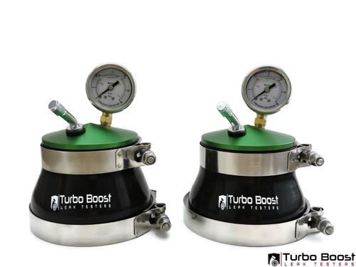 "4"" Twin Turbo Boost Leak Tester - Billet Aluminum"