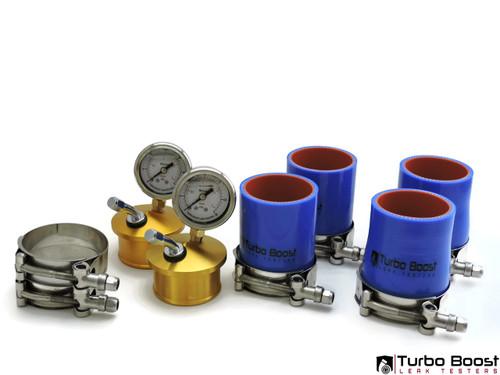 Porsche 996 / 997 / 991 Twin Turbo - Billet Aluminum Boost Leak Tester-  Shop Kit