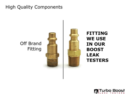 "Milton M-type Compressor Fitting - 1/4"" NPT Thread"
