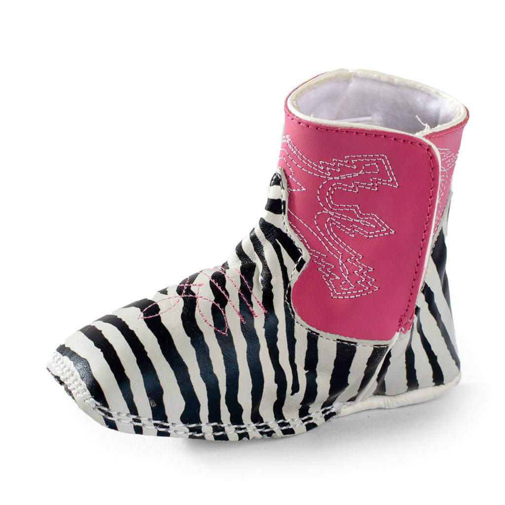 Baby Anderson Bean Boot, Zebra