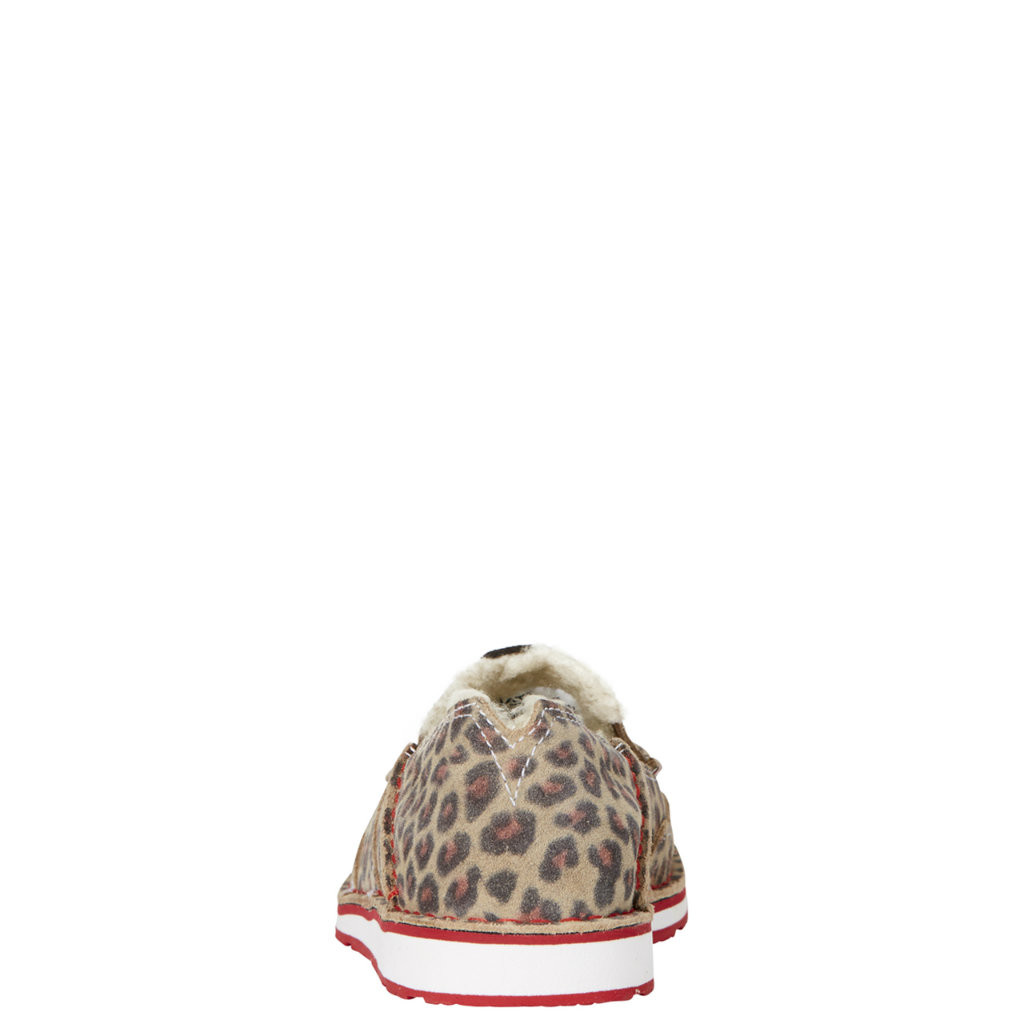 Women's Ariat Cruiser, Cheetah, Fleece Lined