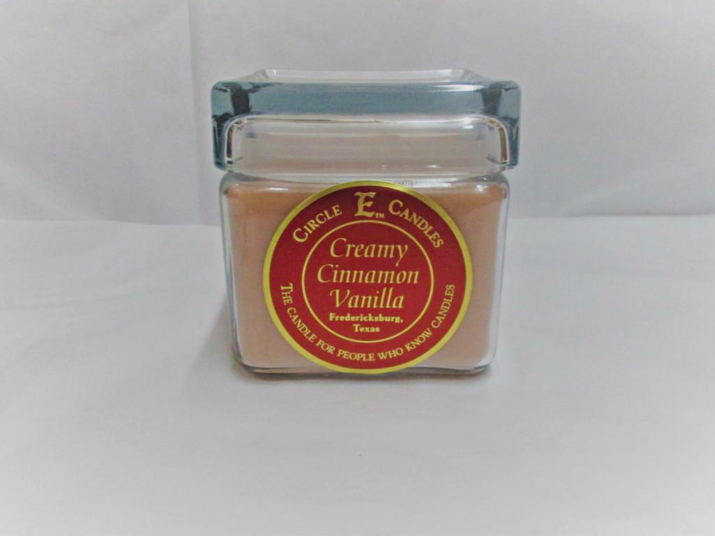 Circle E Candle, Creamy Cinnamon Vanilla 28 oz.
