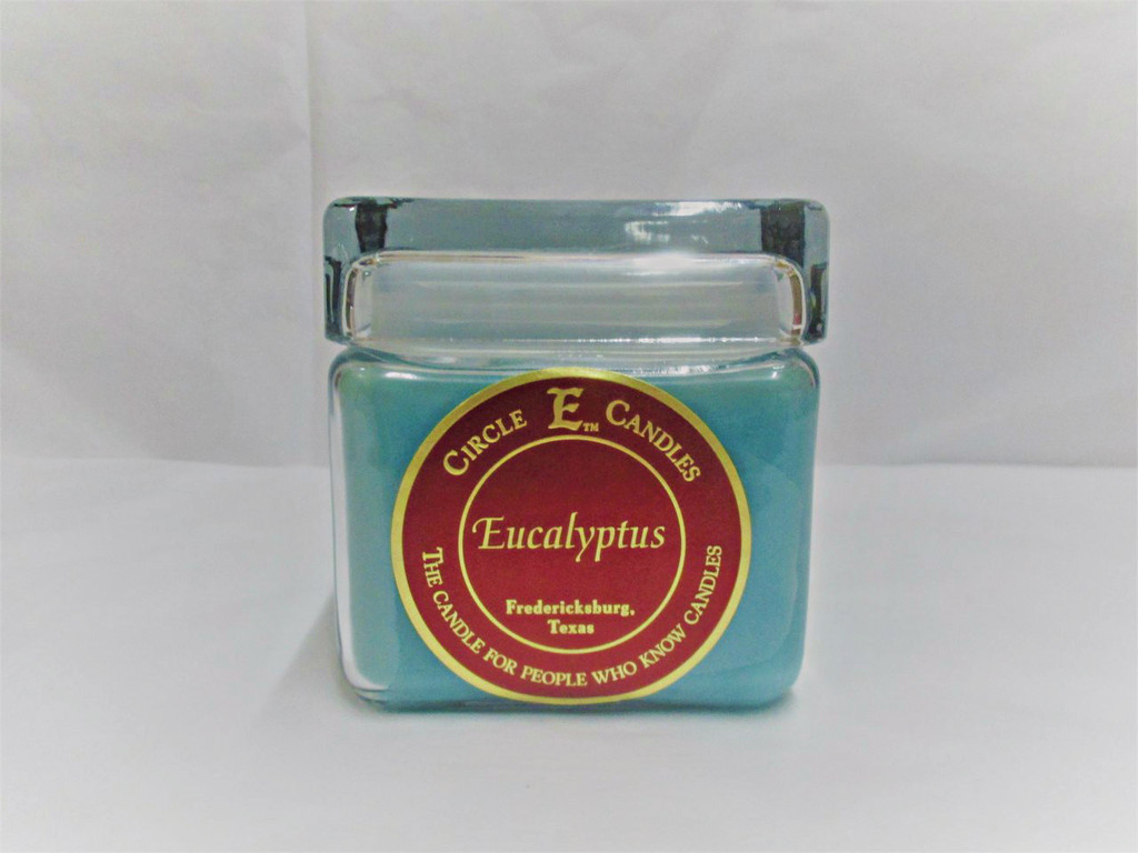 Circle E Candle, Eucalyptus, 28oz.