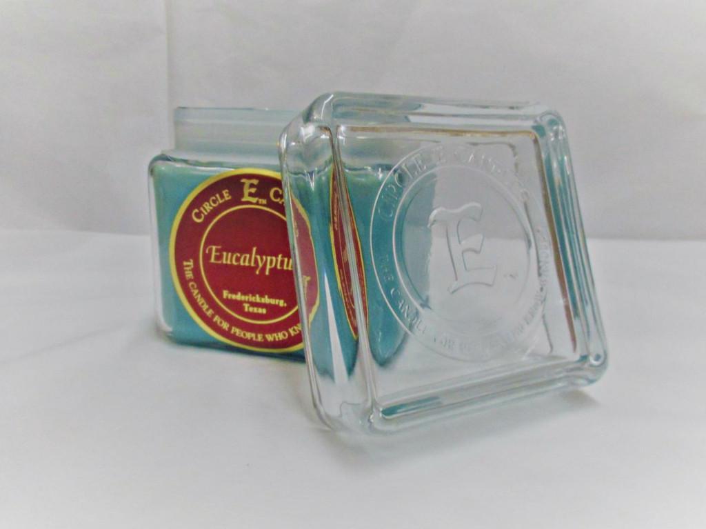Circle E Candle, Eucalyptus, 28oz.