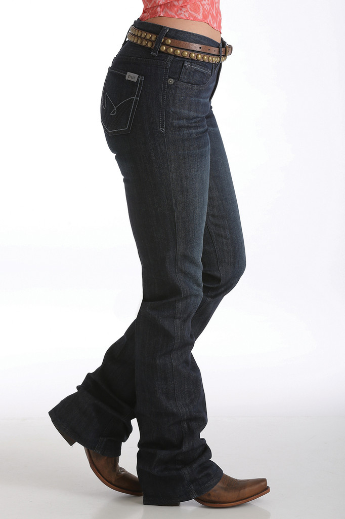 "Women's Cruel Girl Jeans, ""Hannah"" Dark Wash, Boot Cut"