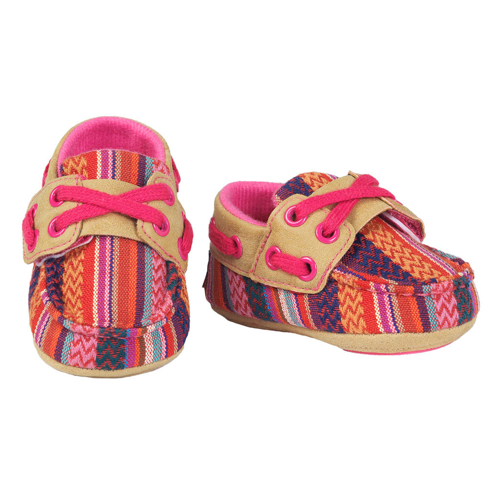 Baby Bucker Boots, Riley, Serape