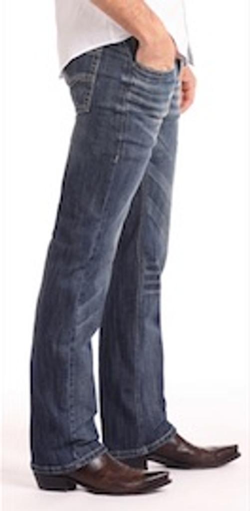 Men's Rock & Roll Jeans, Pistol Regular Bootcut, Dark Wash