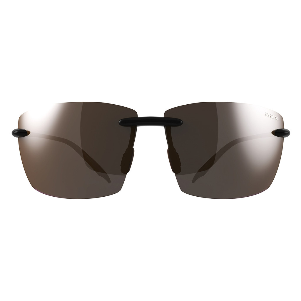 Bex Sunglasses, Landyn, Black Frame Brown Lens
