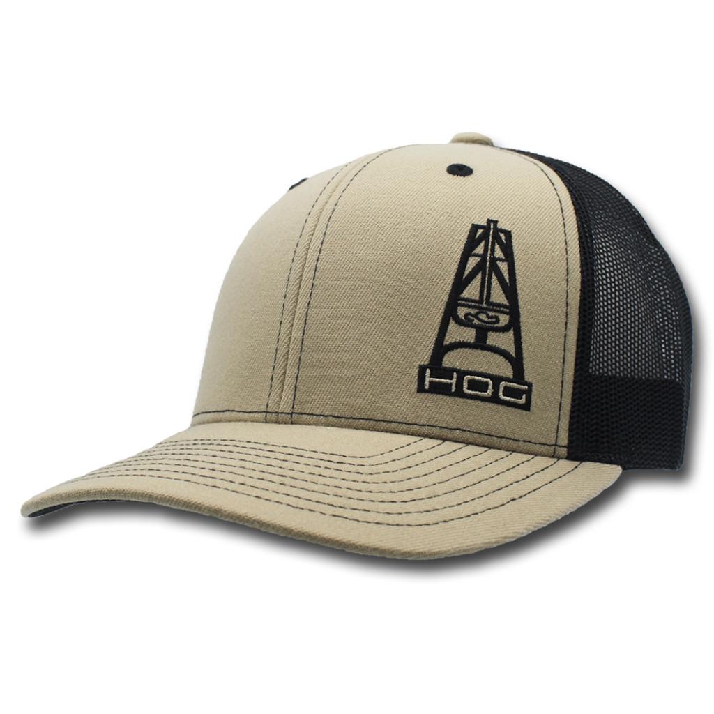 d633e3106a0c4 ... best price hats 8ba0e 41539 spain mens hooey cap the hitch tan and  black trucker cap
