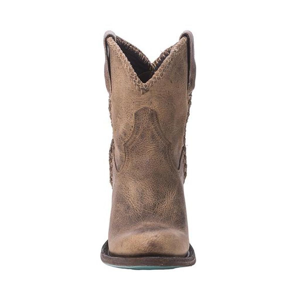 Women's Lane Boots, Plain Jane Shortie, Brown