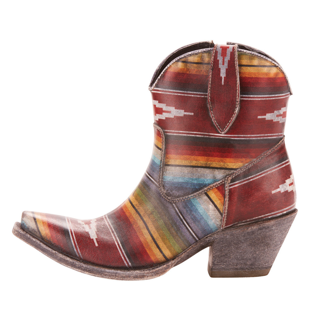 Women's Ariat Boot, Ankle, Circuit Cruz, Southwest Serape