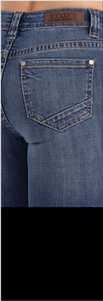 Women's Rock & Roll Jeans, High Rise Trouser, Multi Button