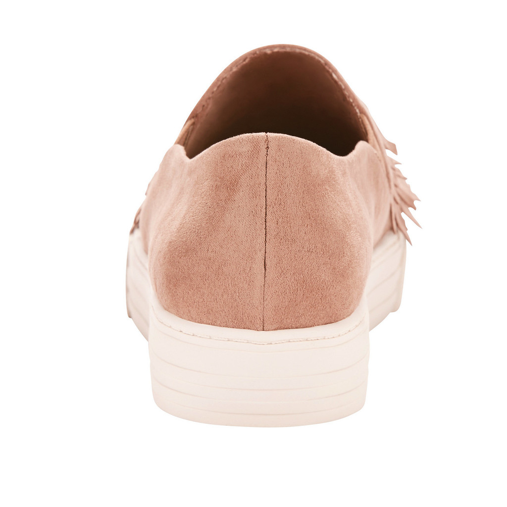 Women's Ariat Shoe, Unbridled, Taupe Suede with Fringe