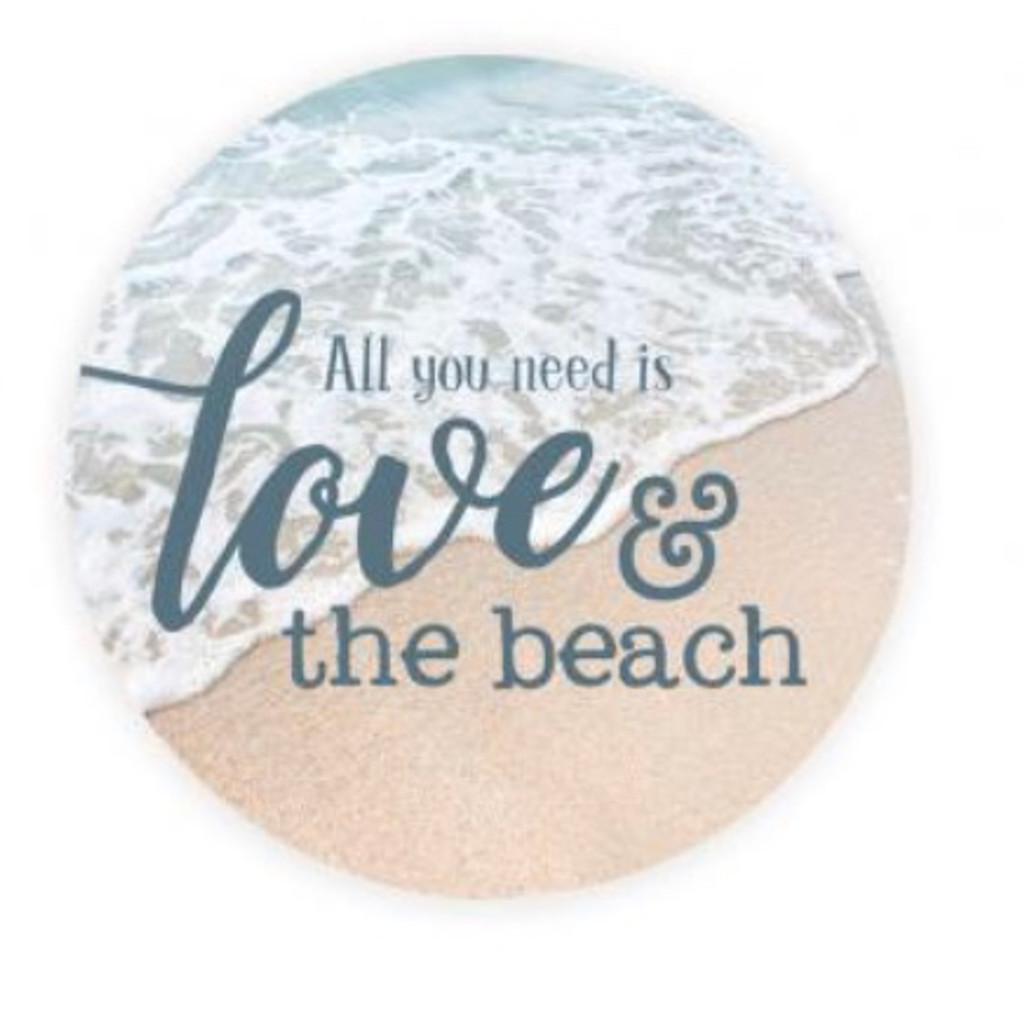 PGD Car Coaster Singles, Love and the Beach