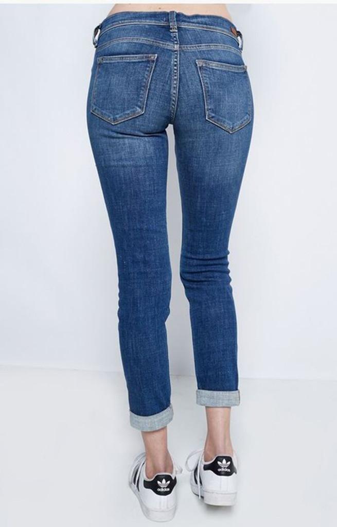9d84af5391b Women's Sneak Peek Jeans, Skinny Boyfriend Ankle, Distressed, Light Wash