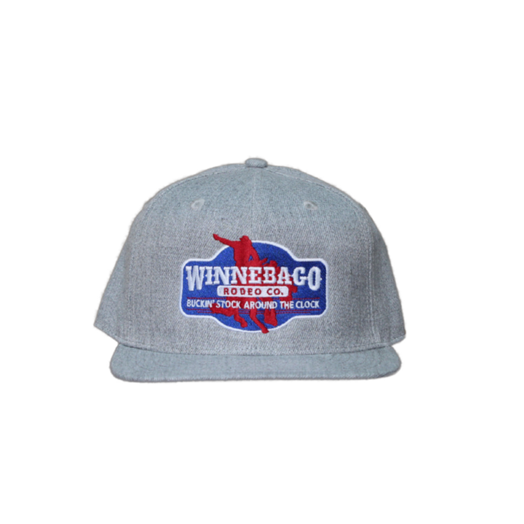 Dale Brisby Cap, Winnebago Rodeo, Heather Gray