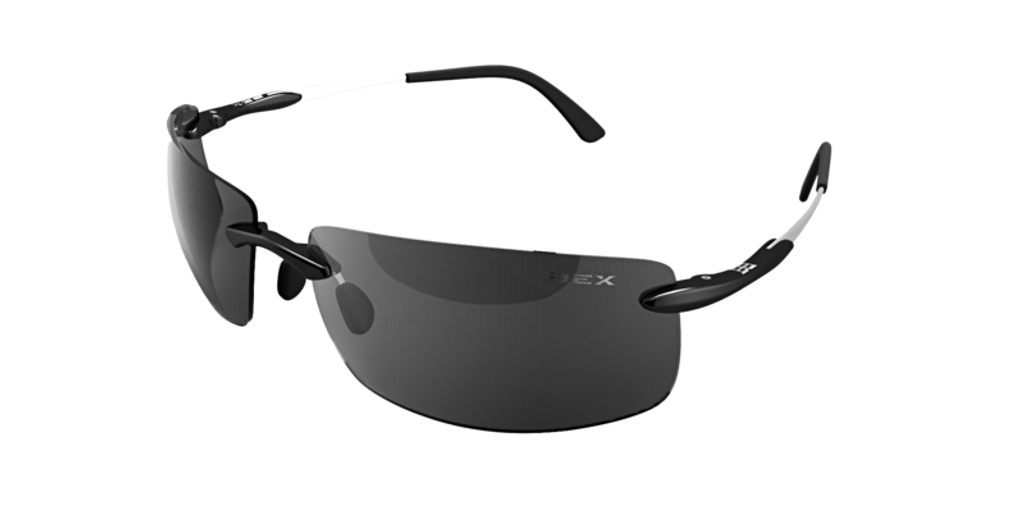 Bex Sunglasses, Brackley, Black Frame Gray Lens