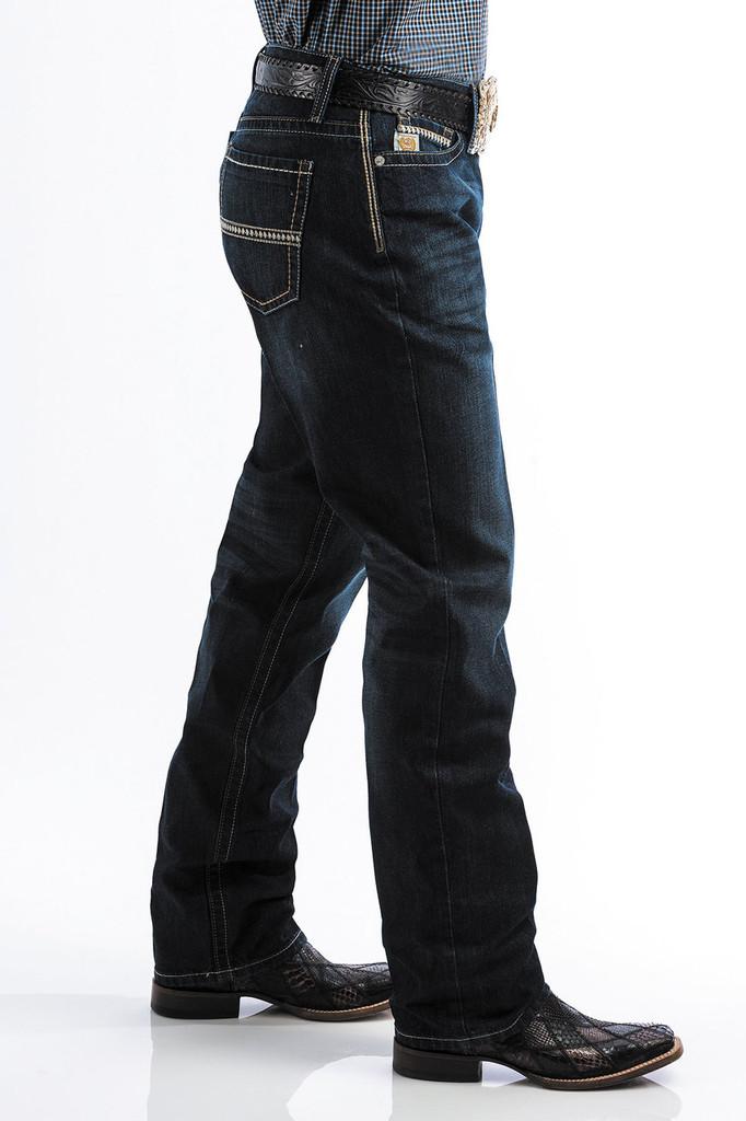 Men's Cinch Jeans, Grant Medium Stone